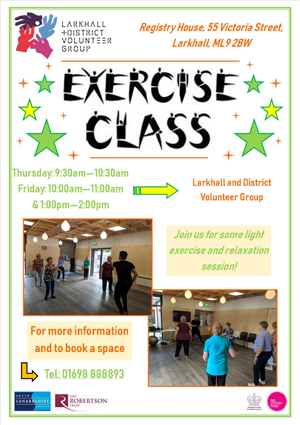 Exercise Class Poster